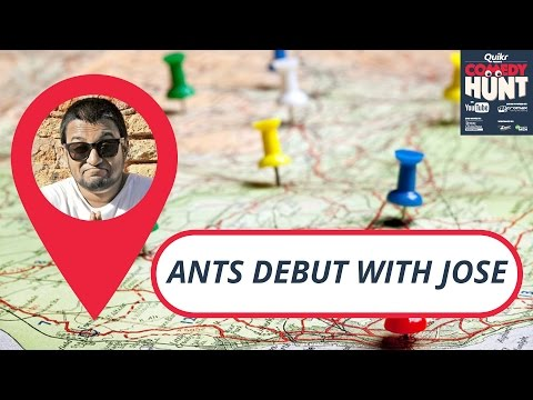 Ants debut with Jose | Comedy Hunt