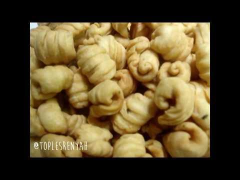 Video Cara membuat Kue Garpu (tanpa oven dan mixer)