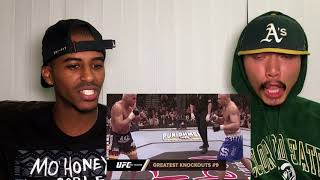TOP 20 KNOCKOUTS IN UFC HISTORY  REACTION