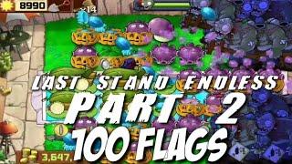 plants vs- zombies speedrun survival endless 100 flags 2h20m50s - TH