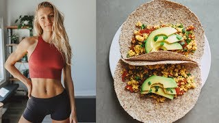 WHAT I ATE TODAY Easy, Healthy Meals + BTS of MadFit