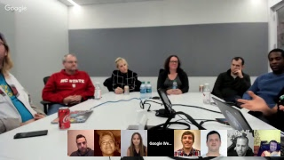 English Google Webmaster Central office-hours hangout IRL from New York