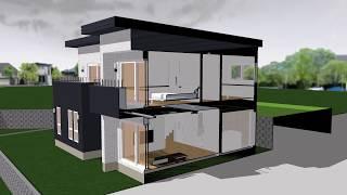 전원주택 설계 디자인 시뮬레이션