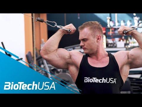 Rozwój mięśni rąk. kompleks ćwiczenia