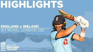 England V Ireland - Highlights | Billings Hits Best Ever Score After Willey Takes 5 | 1st ODI 2020