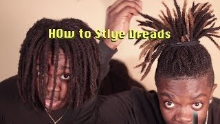 Easy Hightop Dreadlock Styles For Short And Long Hair (Dreadlock Journey)