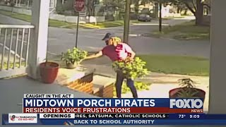 Caught In The Act: Plants Stolen Off Of Front Porch