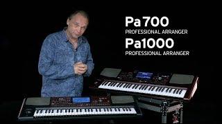 Korg Pa1000 - Video