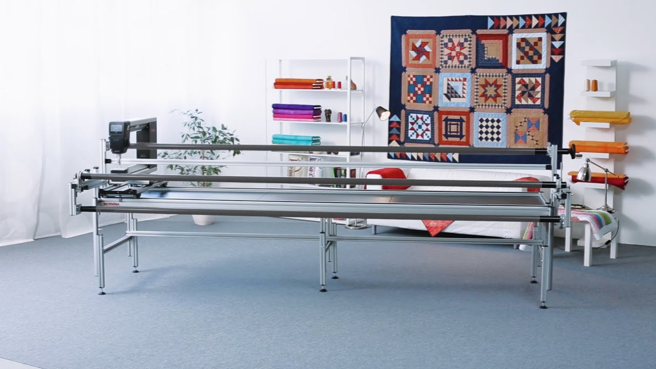 BERNINA Q 24: Quilt Frame Assembly