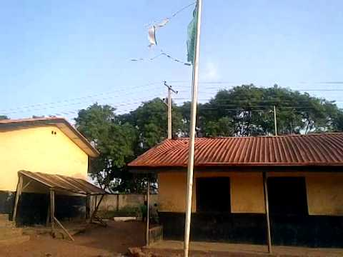 Poor State of Nigerian schools, its National flags