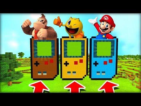 NEVYBER SI ŠPATNÝ GAMEPAD V MINECRAFTU! (Donkey Kong, Pacman, Super Mario)