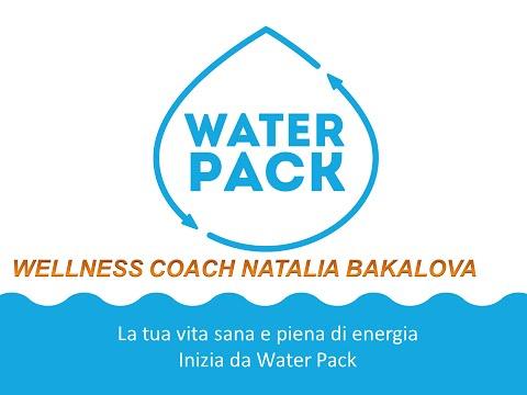 Video 1: 1 PASSO DELLA SALUTE IDRATAZIONE - CORAL MINE- WATER PACK- COR DELTA