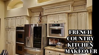 SNEAK PEEK FRENCH COUNTRY KITCHEN MAKEOVER