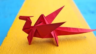 Dragon Paper Craft | DIY Crafts | How To Make Minute Crafts For Kids | Easy Origami