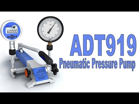 Additel 919 / 920 Pneumatic Pressure Pump