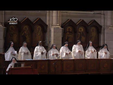 Prière du Milieu du jour du 17 juillet 2021 des Bénédictines du Sacré-Coeur de Montmartre
