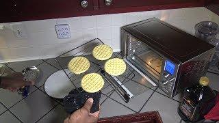 Frozen Eggo Waffles, Power Air Fryer Oven 360 Toaster Test