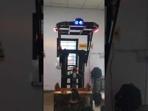 Red Zone Light For Forklift