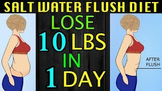 Salt Water Flush (Master Cleanse Diet) | Lose 5 KGS In 1 Day