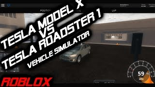 TESLA MODEL X VS TESLA ROADSTER 1.0