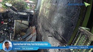 Satu Rumah di Dekat RS Kasih Ibu di Lhokseumawe Terbakar, Pasien Panik Berhamburan Keluar