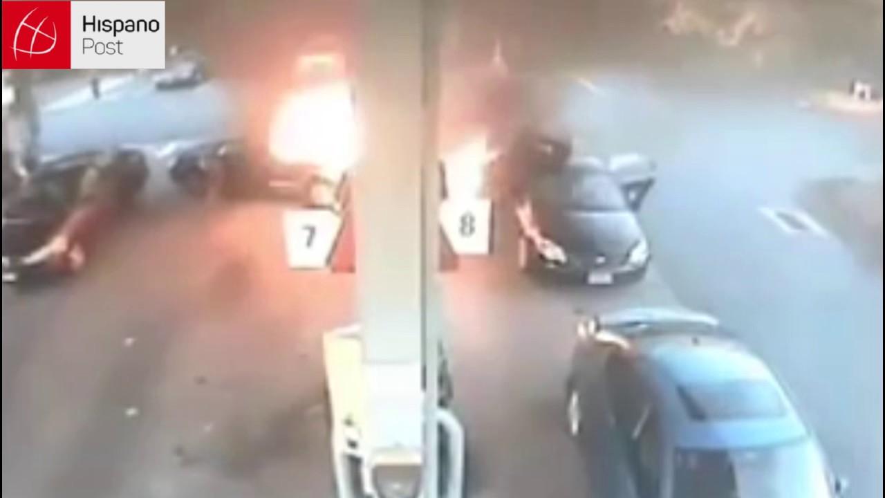 Mamá rescató a su hija de morir en un incendio
