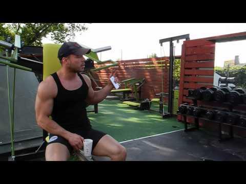 Ćwiczenia wzmacniają mięsień czworoboczny