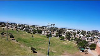 Geprc Cinequeen 4k FPV Large Park /Birds/Height/Distance/ Sunday April Morning
