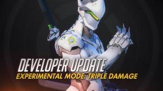"""Blizzard anuncia o """"Triple Damage"""" como primeiro modo experimental em Overwatch"""