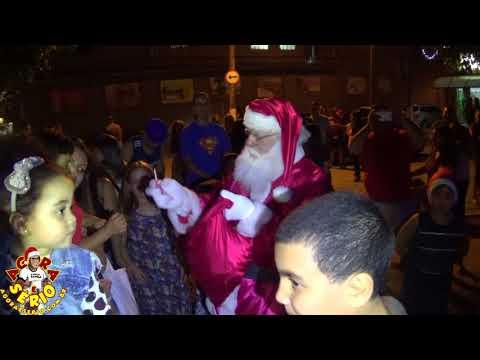 Chegada do Papai Noel em Juquitiba 2017