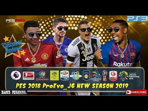 PES 2018 ProEvo_JG NEW TRANSFER SEASON 2019 [PS3] - смотреть