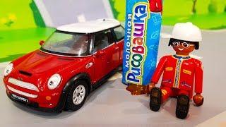 Мультики про машинки. Смешная красная машинка в мультике – Шоколадный торт. Мультфильмы для детей