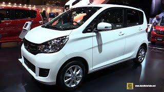 2016 Mitsubishi EK Wagon - Exterior and Interior Walkaround - 2015 Tokyo Motor Show