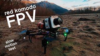 Cine-FPV Slow Motion Test with RED Komodo   4K