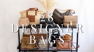 Designer Handbag Collection 2019 I Chanel, Celine, Gucci, LV & More