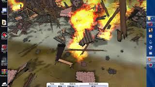 супер подрыв здания в detonate 1.2 LITE