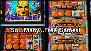 300+ Spin Bonus on Mayan Chief! Super Win!