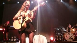 Christina Perri performs Lollipop + Lonely Child (live in Singapore 27 Feb 2015)
