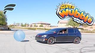 100MPH CAR VS WUBBLE BUBBLE