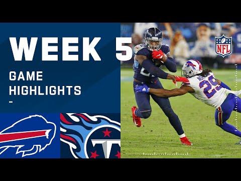 Bills vs. Titans Week 5 Highlights | NFL 2020