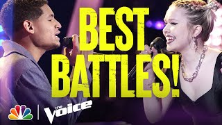 The Best Battles from Season 20 - The Voice 2021