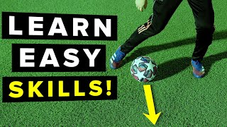 3 Easy football skills that make you look COOL!