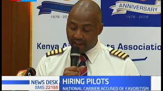 KALPA concerned over KQ preferring expatriate pilots when the country has unemployed pilots