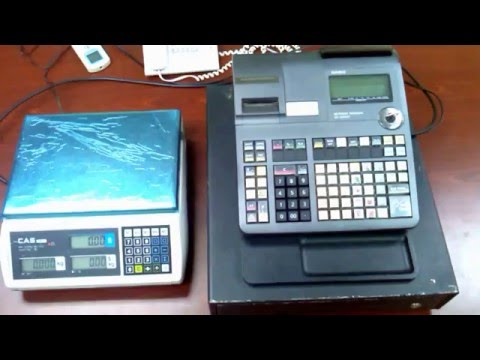 CAS ER Plus Weighing Scale Link to Casio SE-S6000 Cash Register