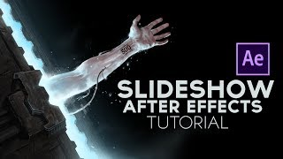 Simple Slideshow After Effects Tutorial