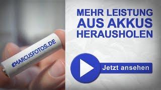 Akkus einfach richtig laden feat. Maha MH-C800s