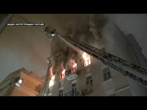 Μεγάλη πυρκαγιά στη Μόσχα – Νεκροί και τραυματίες