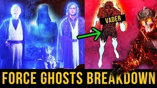 Everything You've Ever Wanted to Know About Force Ghosts | Star Wars Canon Explained