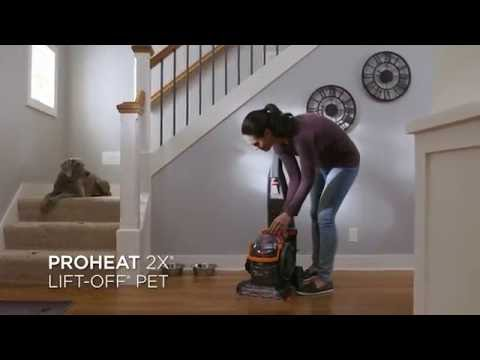 ProHeat 2X Lift Off Upright Carpet Cleaner Feature Video