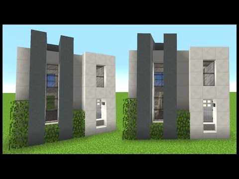 . Simple   Compact Modern House    Minecraft Tutorial